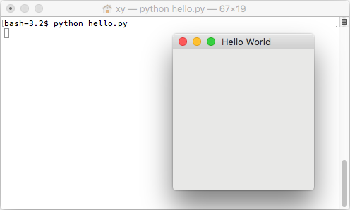 Getting Started — PyGObject